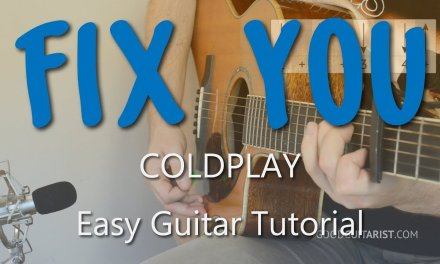 """Fix You"" Easy Guitar Tutorial 