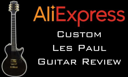 AliExpress Custom Les Paul Guitar Review & Upgrades (With Commentary)