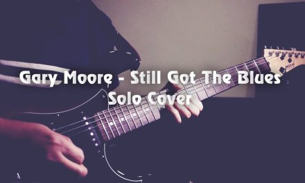 """Still Got The Blues"" – Gary Moore (Solo Cover) by Jack Thammarat"