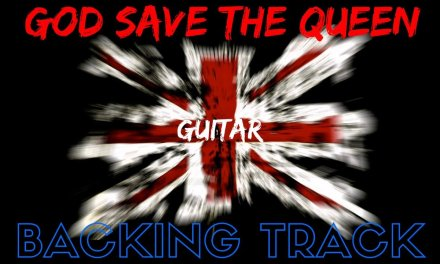 'God Save The Queen' – Guitar Backing Track Jam Along.