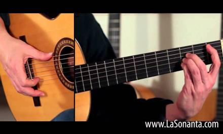 Flamenco Guitar lesson Buleria Alzapua