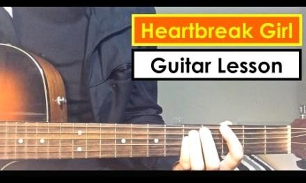 Heartbreak Girl – 5 Seconds of Summer Guitar Lesson (Tutorial) 5SOS