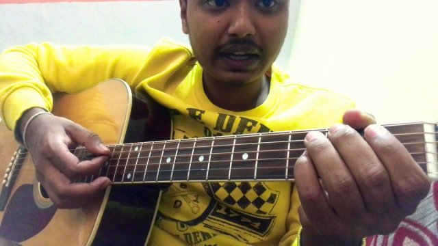 Main kaun hoon (secret superstar) intro guitar lesson original notes ...
