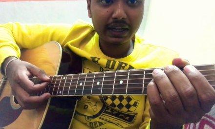 Main kaun hoon (secret superstar) intro guitar lesson original notes and chords.