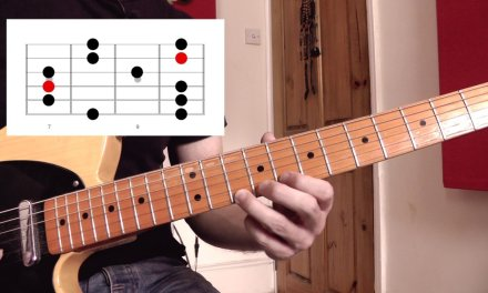 Minor Pentatonic All Over The Neck – the 5 Shapes | Guitar Lesson