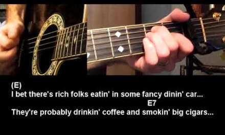 How to play Folsom Prison Blues by Johnny Cash Guitar Lesson Tutorial