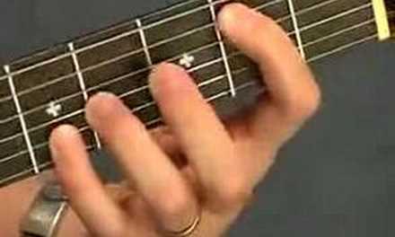 Dave Matthews Crash Into Me Tab Chord Inversion CAGED Lesson