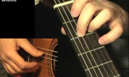 BLUES #2: Fingerstyle Guitar Lesson + TAB by GuitarNick