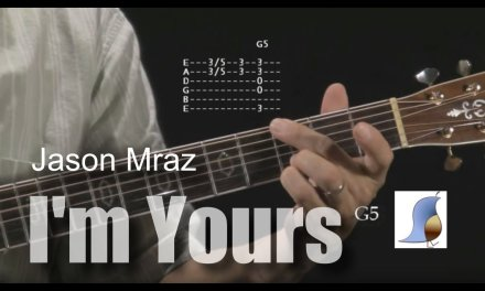 How to play I'm Yours by Jason Mraz – guitar lesson