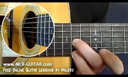 Sweet Child o' Mine Guitar Lesson – part 1 of 8