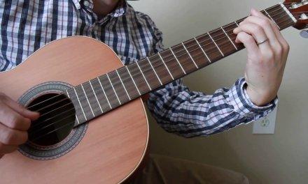 Felicidade (Adieu Tristesse) – Bossa Nova Solo Classical Guitar
