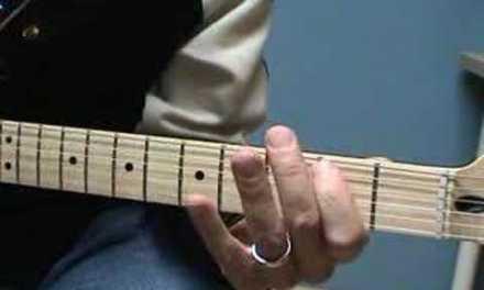 Blues Shuffle Guitar Lesson