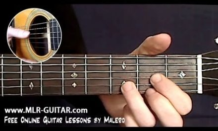 Love Me Tender Guitar Lesson – part 1 of 4