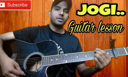 Jogi | Shaadi Mein Zaroor Aana | Guitar cover | Guitar lesson | Guitar chords|