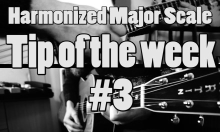 Tip Of The Week #3 | Learn the harmonized major Scale! | Chord Progressions | Guitar Lesson |