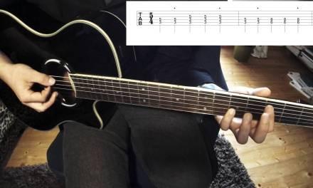 5/4 – Gorillaz Guitar lesson