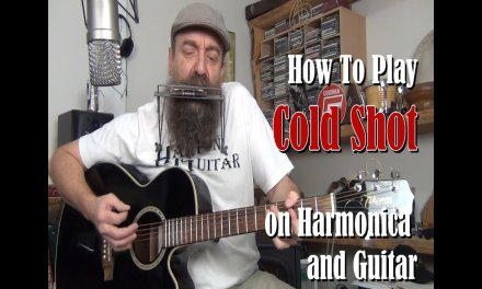 How to play Cold Shot by Stevie Ray Vaughan on Guitar and Harmonica – Harp N Guitar Harmonica Lesson