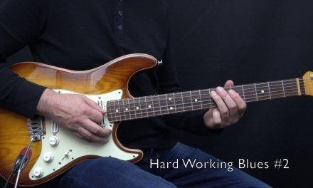 "Hard Working Blues 1 – 3 from my book ""Bluesmans Corner 1"" – Achim Kohl"