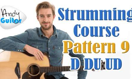 MOST COMMON Beginners Strumming Pattern EVER!! Strumming Tutorial #12