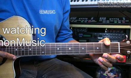 How To Play KNOCKING ON HEAVEN'S DOOR  Bob Dylan on Guitar Easy EricBlackmonGuitar