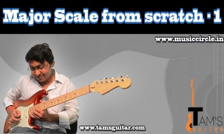 Major Scale from Scratch – Part 1 Preview (Learn to improvise) Coming soon