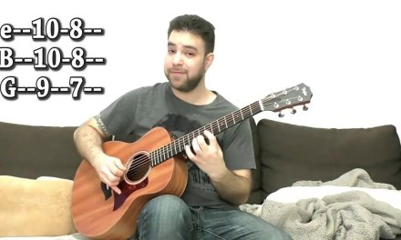 Fingerstyle Guitar Lessons. Tutorial Part 47 / Lesson Fingerstyle Blues in A