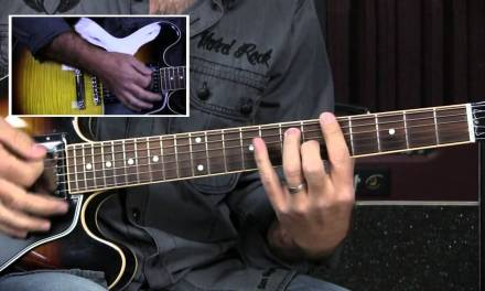 Blues Guitar Lesson: Using Quarter Note Triplets To Get From I To IV