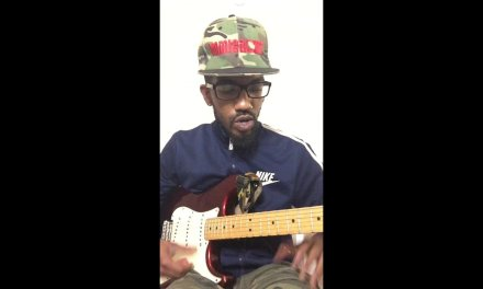 Lost and Found Chris Brown Guitar Lesson @XeryusG @chrisbrownofficial