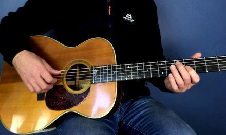 Blues guitar lesson in E