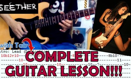Careless Whisper(Rock version) – Seether(Complete Guitar Lesson/Cover)with Chords and Tab