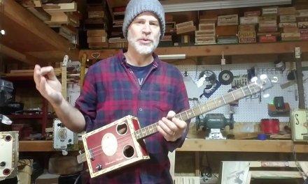 A Blues IMPROV video lesson (Cigar Box Guitar)