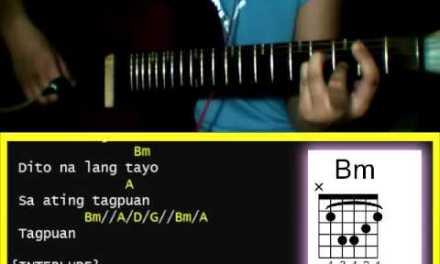 Tagpuan by Kamikazee  – Guitar Chords