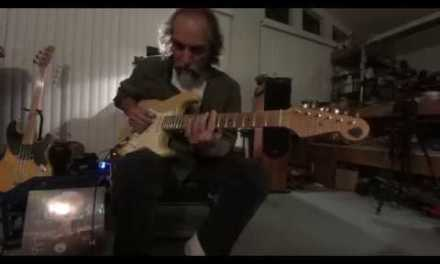 Apocalyptic Slide Guitar – The Apocalypse Blues Revue – Blues are Fallin' From the Sky, Bob on Slide