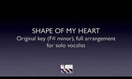 Sting – Shape Of My Heart Backing Track / Karaoke FREE