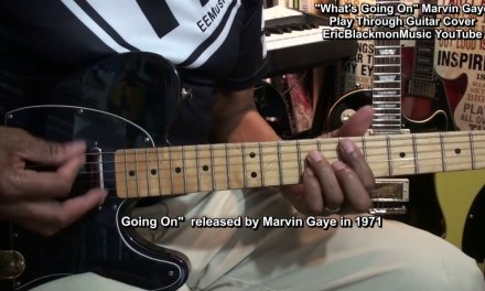 WHAT'S GOING ON Marvin Gaye Play Through Guitar Cover w LESSON LINK
