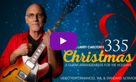 Silent Night – Larry Carlton – Christmas Song Lesson Performance