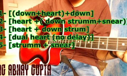 Dual Heartbeat lesson | Guitar Lesson | Heartbeat Style | Beginner Tutorial | Percussive Style