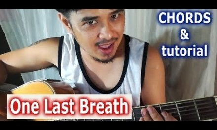 Guitar tutorial chords of One Last Breath CREED – Pareng Don tutorial