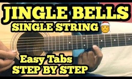 Jingle Bells Guitar Tabs/Lead Lesson | SINGLE STRING | Easy Chritsmas Song on Guitar 2017 | Hindi
