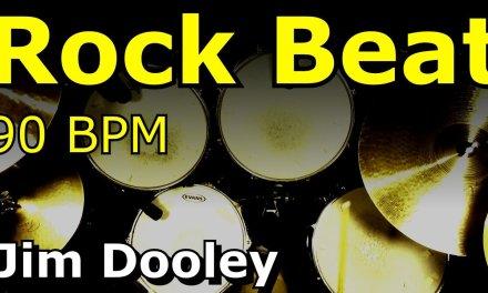Backing Track – Rock Drum Loops 90 BPM – JimDooley.net