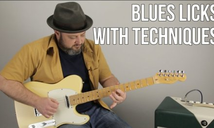 Blues Rock Licks and Solo Techniques