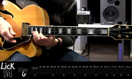 Andy's Lab – Daily Blues Licks #54 – Guitar Lesson