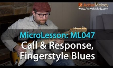 Call & Response Fingerstyle Blues Guitar Lesson – Laid Back – ML047