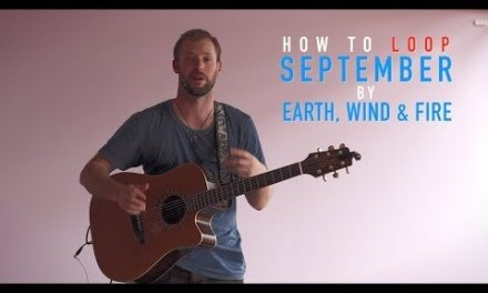 How to loop September by Earth Wind and Fire – Guitar lesson