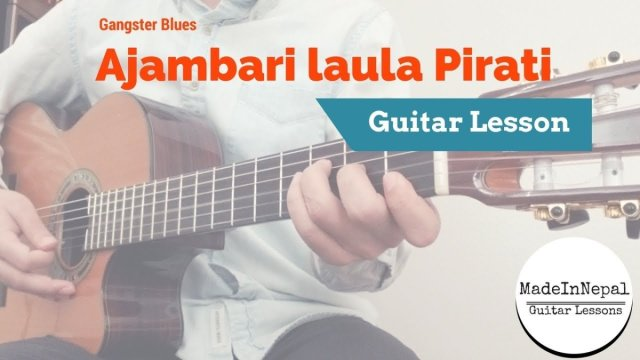gangster blues – ajambari laula pirati guitar lesson chords tab ...