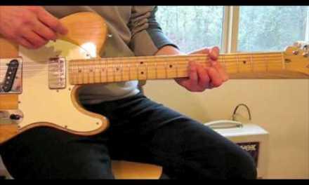 Guitar Lesson: Brown Sugar in Standard Tuning