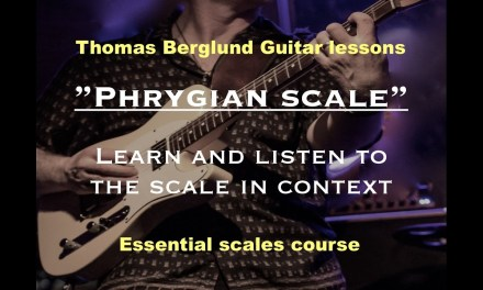 Learn the Phrygian scale – Guitar lessons