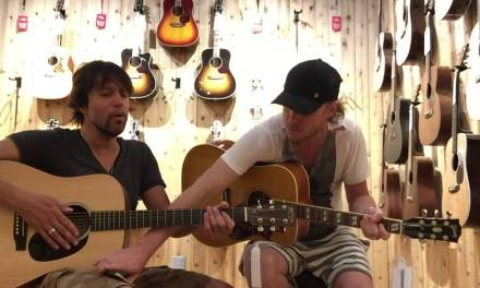 Sneaking into Guitar Center to play the Blues Part 2. Kenny Wayne Shepherd and Noah Hunt