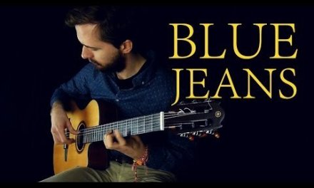 Lana Del Rey – Blue Jeans – Fingerstyle (Classical guitar) + TABS