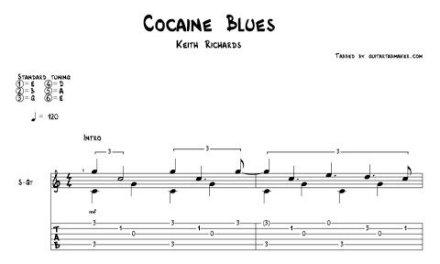 Cocaine Blues TAB – acoustic fingerpicking guitar tab – PDF – Guitar Pro